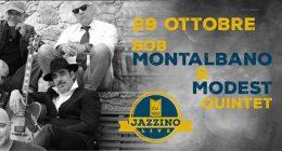 Bob Montalbano & Modest 5et live at Jazzino Cagliari
