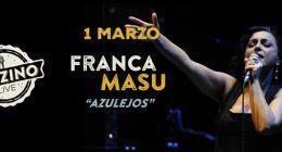 "Special Event Franca Masu ""Azulejos"" live at Jazzino Cagliari"