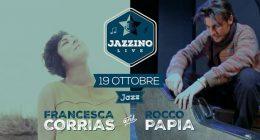 Francesca Corrias & Rocco Papia live at Jazzino