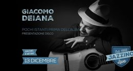 "Giacomo Deiana ""Pochi istanti prima dell'alba"" live at Jazzino"