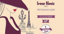 Irene Nonis Trio live at Jazzino
