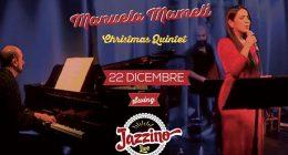 Manuela Mameli Christmas Quintet live at Jazzino