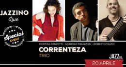 Trio Correnteza live at Jazzino