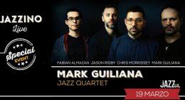 "Mark Guiliana ""JazzQuartet"" live at Jazzino"