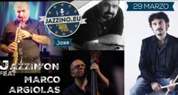Marco Argiolas & Jazzin'on _JEU Event_ live at Jazzino