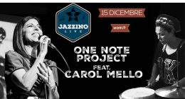 One Note Project feat Carol Mello – Live at Jazzino