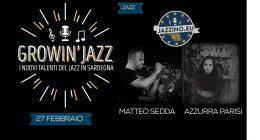 Growin'Jazz – I giovani talenti del Jazz in Sardegna – Live at Jazzino