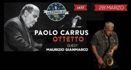 Paolo Carrus Ottetto Guest Maurizio Gianmarco – Live at Jazzino