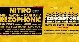 CONCERTONE • Nitro, Rezophonic & many more artists • Parco dei Suoni (OR)