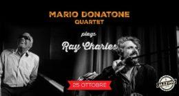 Mario Donatone Quartet plays Ray Charles – Live at Jazzino