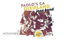 Paolo's CA Dixieland Jazz Band – Live at Jazzino