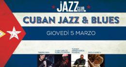 Cuban Jazz & Blues – Live at Jazzino for JCN20
