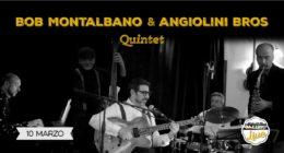 Bob Montalbano & Angiolini Bros Quintet – Live at Jazzino