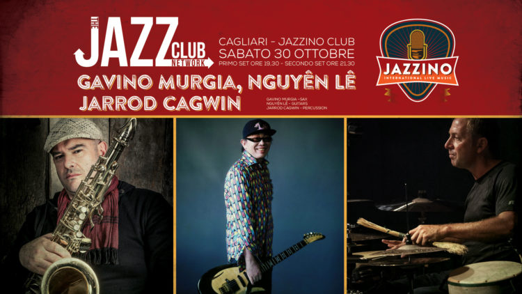 Gavino Murgia, N'Guyen Lee, Cagwin Live@ Jazzino